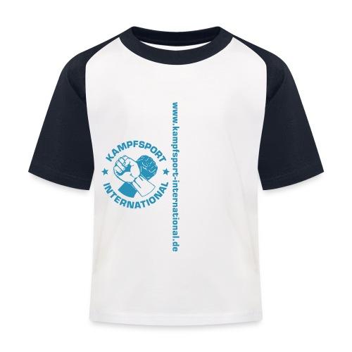 kiwebsite - Kinder Baseball T-Shirt