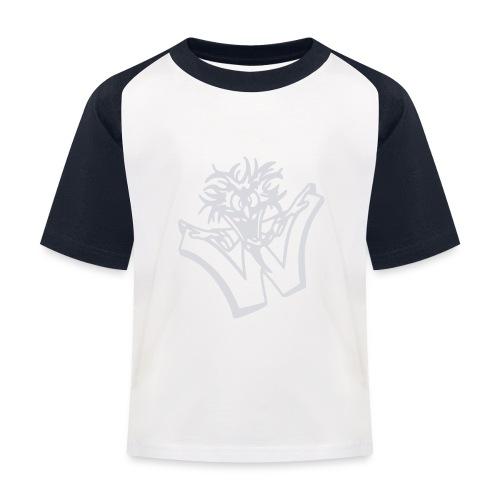 w wahnsinn - Kinderen baseball T-shirt