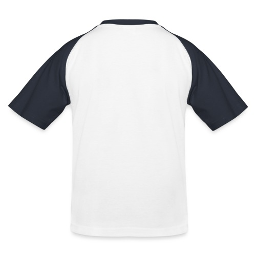 wit logo transparante achtergrond - Kinderen baseball T-shirt