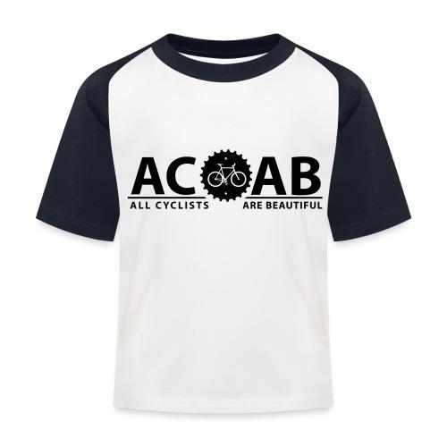 ACAB All Cyclists Are Beautiful T-Shirts - Kinder Baseball T-Shirt