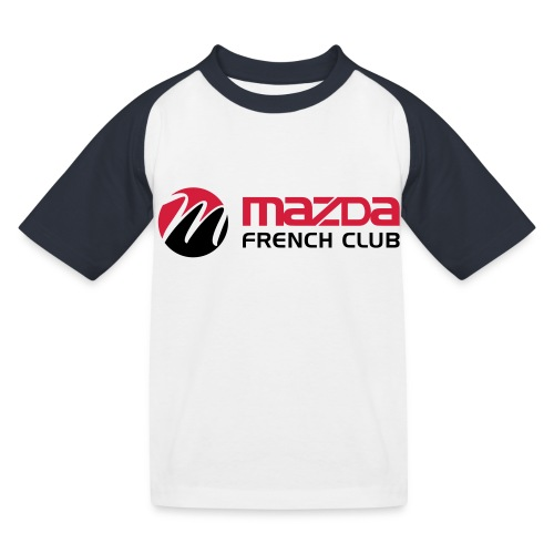mazda french club - T-shirt baseball Enfant