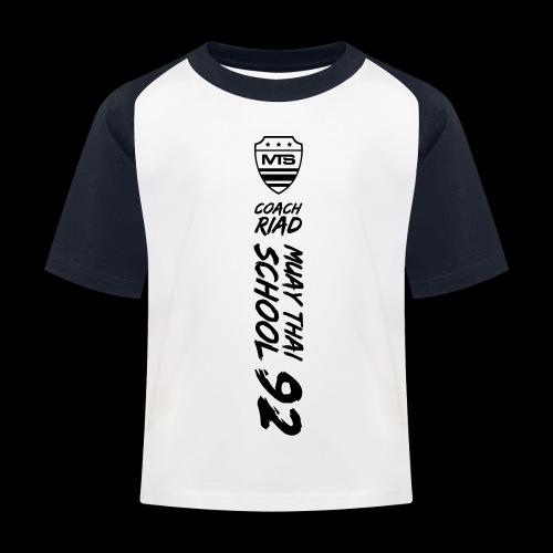 (mst92finalv3) - T-shirt baseball Enfant
