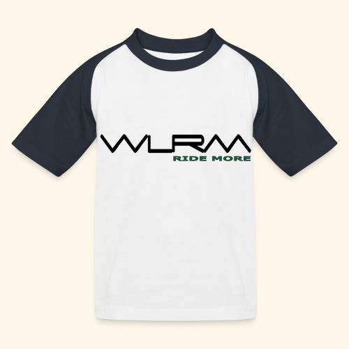 WLRM Schriftzug black png - Kinder Baseball T-Shirt
