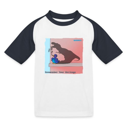 Woofra's Design Heritage - Kids' Baseball T-Shirt