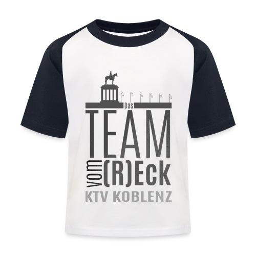 Shirt_Logo_2016_grau - Kinder Baseball T-Shirt