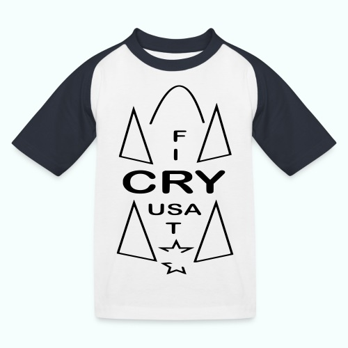 cry usa - Kinder Baseball T-Shirt
