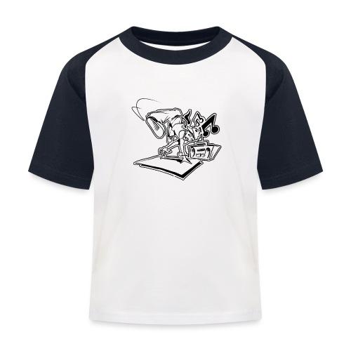 Breakdancer Handstand - Baseball T-shirt til børn