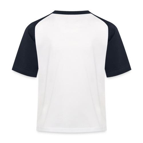Bullterrier comic - Kinder Baseball T-Shirt