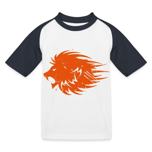 MWB Print Lion Orange - Kids' Baseball T-Shirt