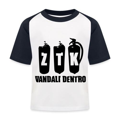 ZTK Vandali Dentro Morphing 1 - Kids' Baseball T-Shirt