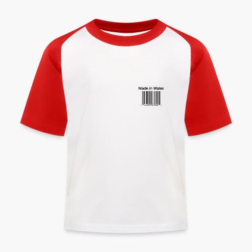 Made in Wales - Kids' Baseball T-Shirt