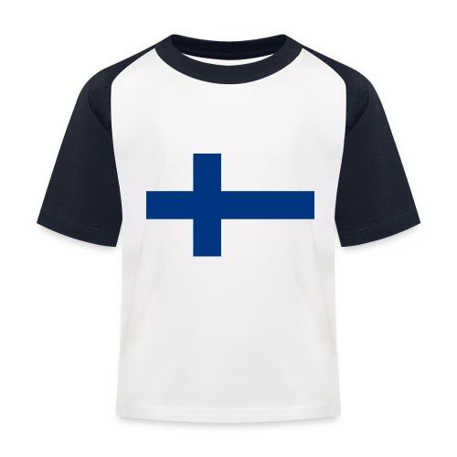 800pxflag of finlandsvg - Lasten pesäpallo  -t-paita