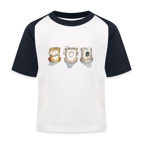 see no evil ver.0.3 Rasmus Balstrøm - Baseball T-shirt til børn