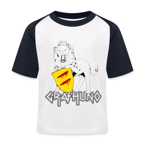 Ostfriesland Häuptlinge Graf Huno von Rastede - Kinder Baseball T-Shirt