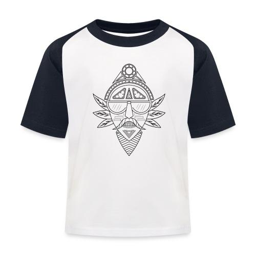 noir png - T-shirt baseball Enfant