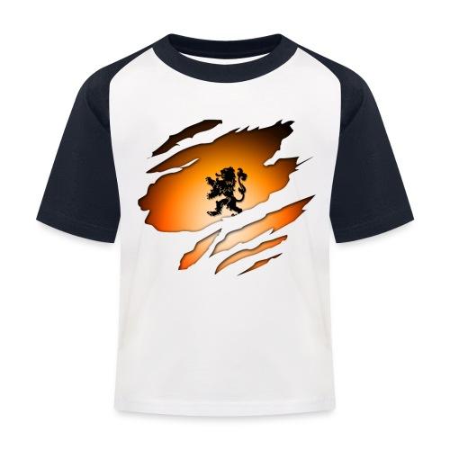 Dutch Inside: Leeuw - Kinderen baseball T-shirt