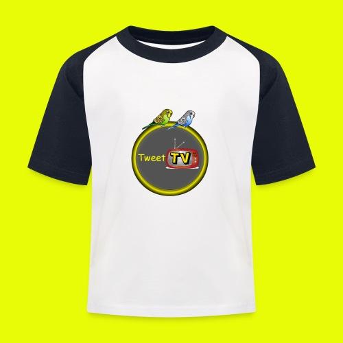 logo teew trand 1 png - Kinderen baseball T-shirt