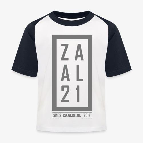 T-SHIRT-BLOK - Kinderen baseball T-shirt