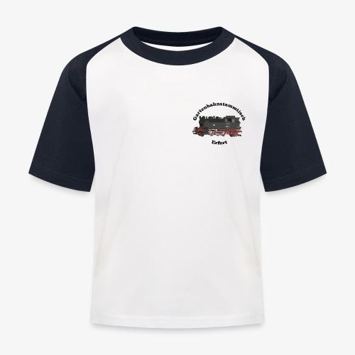 Gartenbahn Stammtisch Erf - Kinder Baseball T-Shirt