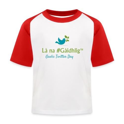 Là na #Gàidhlig - Kids' Baseball T-Shirt