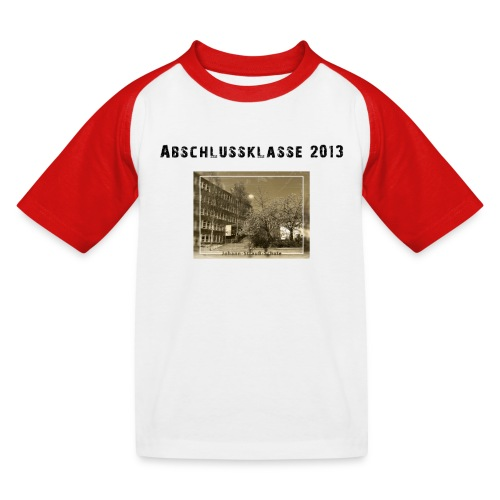motiv abschlussklasse 2013 2 - Kinder Baseball T-Shirt