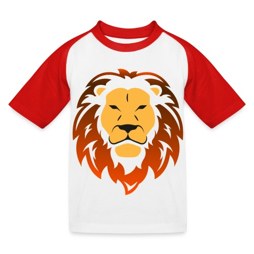 Lion orange - T-shirt baseball Enfant