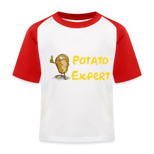 SMT potato expert - Maglietta da baseball per bambini