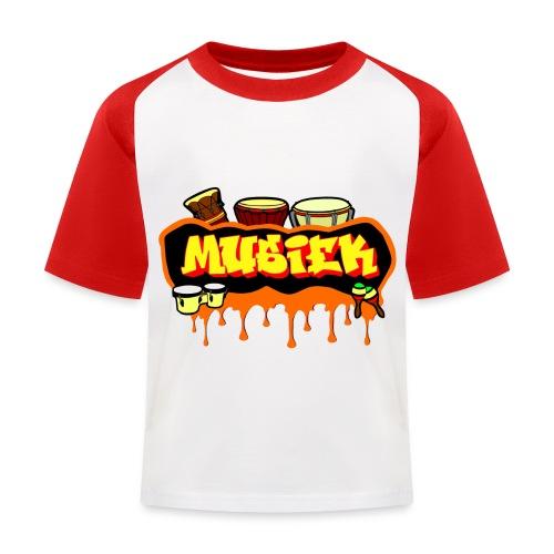 MUSIEK 2 - T-shirt baseball Enfant