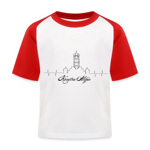 Heartbeat Kempten - Kinder Baseball T-Shirt