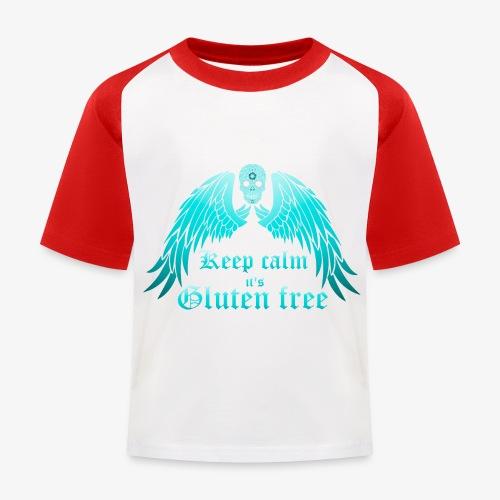 Keep calm it's Gluten free - Kids' Baseball T-Shirt