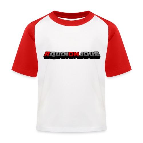 AquoiOnJoue 2017 png - T-shirt baseball Enfant