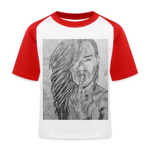 Jyrks_kunstdesign - Baseball T-shirt til børn