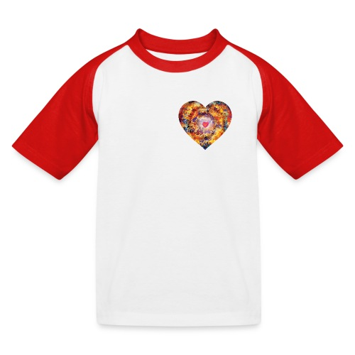 A small big heart of love - Kids' Baseball T-Shirt