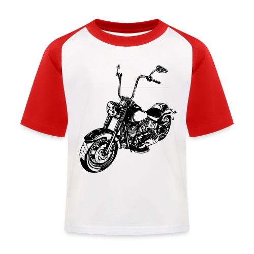 Moto Softail - Camiseta béisbol niño
