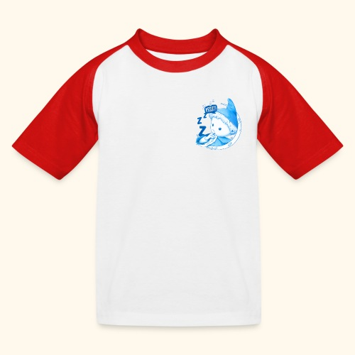 Unser Sandmännchen im Mond Pssst blau - Kinder Baseball T-Shirt