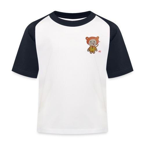 AJ - Kinder Baseball T-Shirt