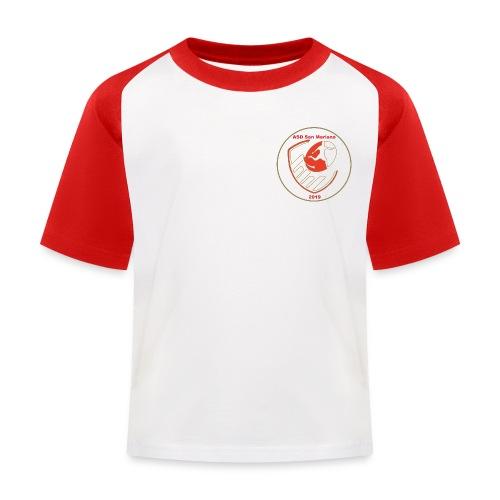 Logo ASD San Mariano 2019 - Maglietta da baseball per bambini