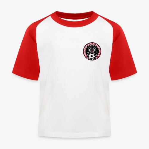 KICKERS HALSTENBEK LOGO schwarz trans - Kinder Baseball T-Shirt