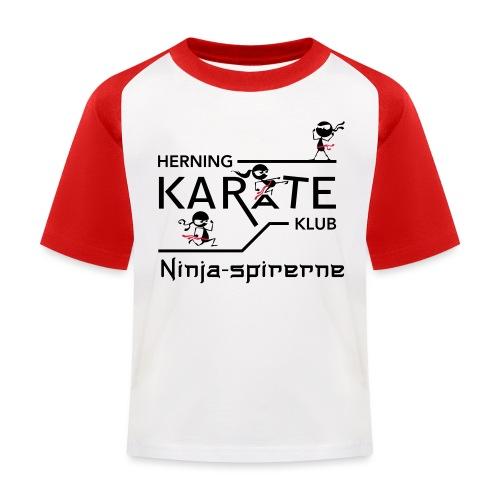 HKK Ninja-spirerne - Baseball T-shirt til børn