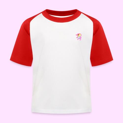 Rainbowguin - Baseball T-shirt til børn