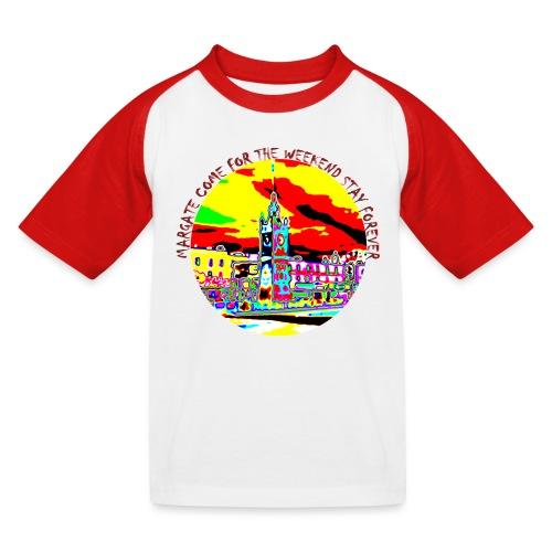Come for the weekend! - Kids' Baseball T-Shirt