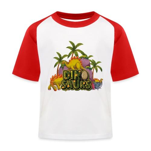 My Dinosaurs - Camiseta béisbol niño