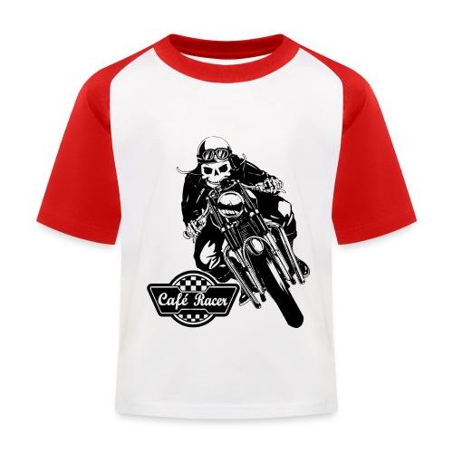 Café Racer - Camiseta béisbol niño