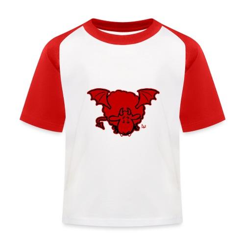 Devil Sheep - Kids' Baseball T-Shirt