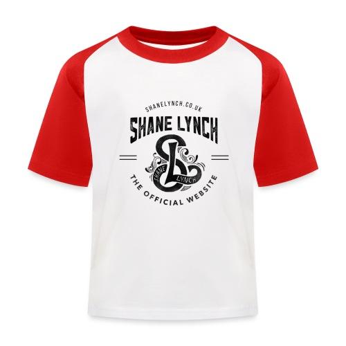 Black - Shane Lynch Logo - Kids' Baseball T-Shirt