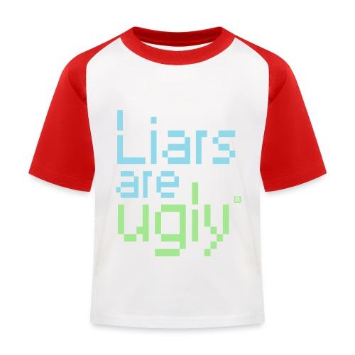 Liars Are Ugly - Kinderen baseball T-shirt