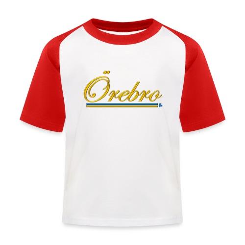Örebro - Baseboll-T-shirt barn