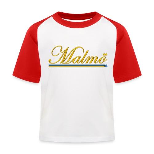 Malmö - Baseboll-T-shirt barn