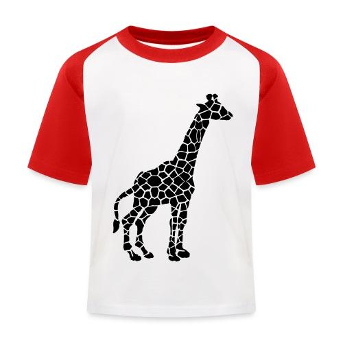 Giraffe (black) - Lasten pesäpallo  -t-paita