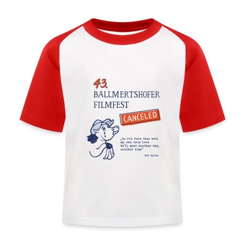 43. Ballmertshofer Filmfest Canceled - Kinder Baseball T-Shirt